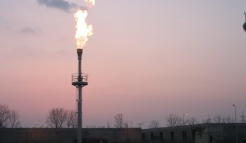 DWS BIogas Elevated Flare