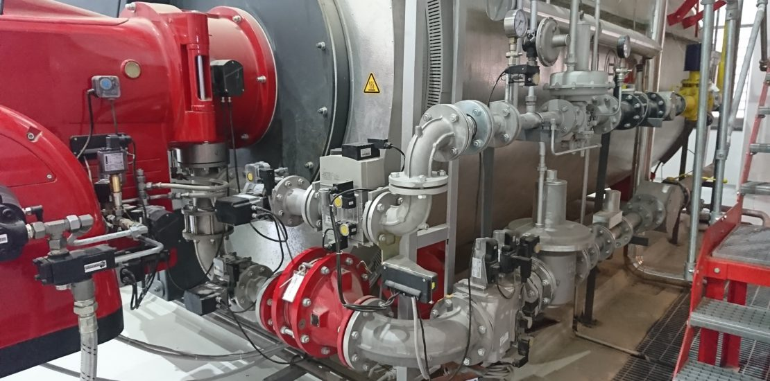burner modification for green energy production biogas