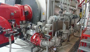 burner modification for green energy production biogas